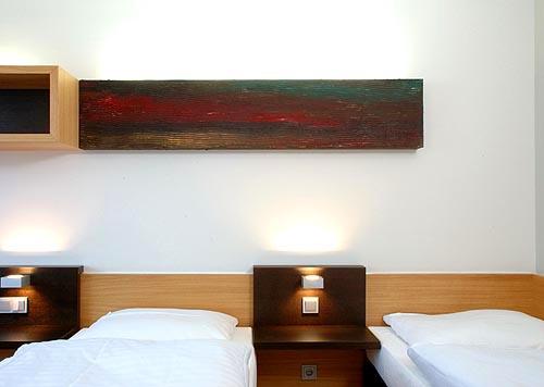 Hotelzimmer Balance im Hotel Zugrücke Grenzau Einzelbetten Heiderich Architekten Lünen