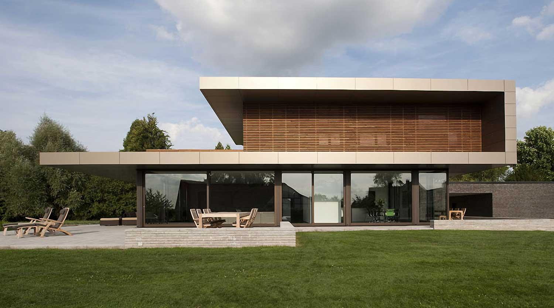 Heiderich Architekten, Lünen, Haus P, Dortmund Ahlenberg, Ansicht West 1