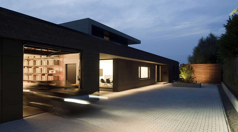 Heiderich Architekten, Lünen, Haus P, Dortmund Ahlenberg, Einfahrt 2