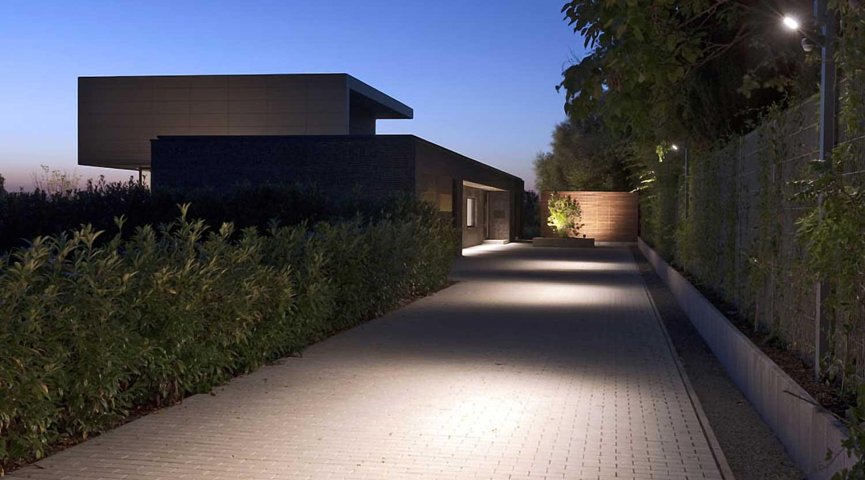 Heiderich Architekten, Lünen, Haus P, Dortmund Ahlenberg, Einfahrt 3