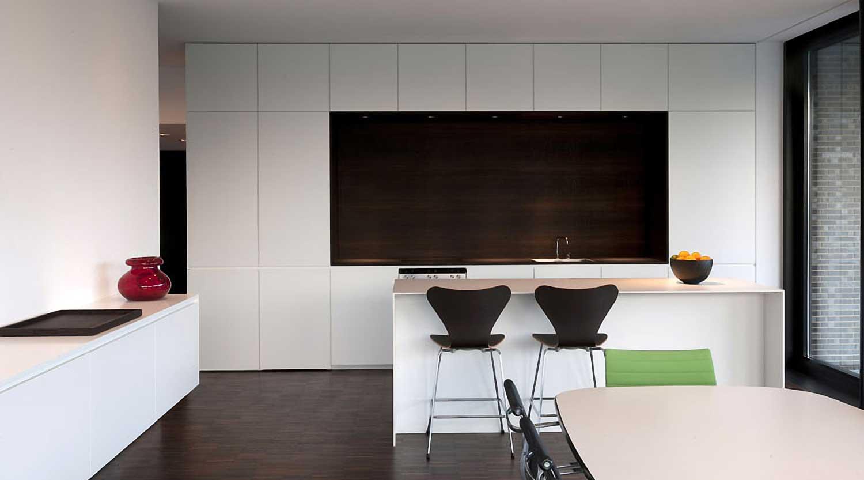 Heiderich Architekten, Lünen, Haus P, Dortmund Ahlenberg, Küche 3