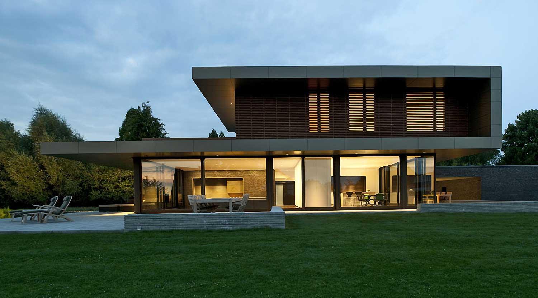 Heiderich Architekten, Lünen, Haus P, Dortmund Ahlenberg, Ansicht West 3