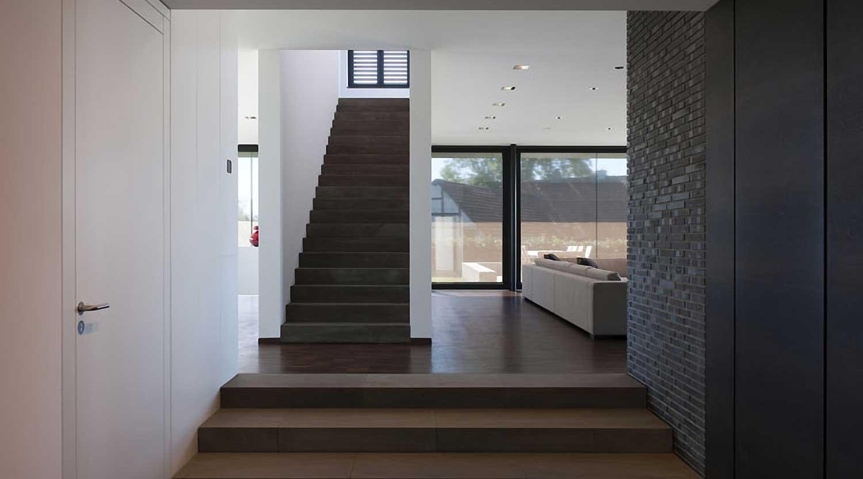 Heiderich Architekten, Lünen, Haus P, Dortmund Ahlenberg, Treppe