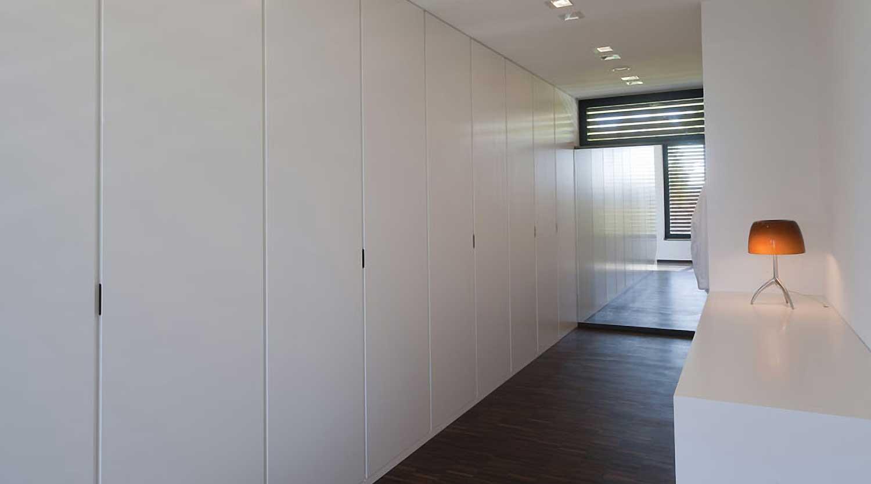 Heiderich Architekten, Lünen, Haus P, Dortmund Ahlenberg, Ankleide 1