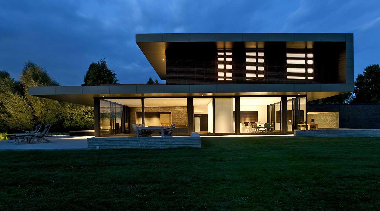 Heiderich Architekten, Lünen, Haus P, Dortmund Ahlenberg, Ansicht West 4