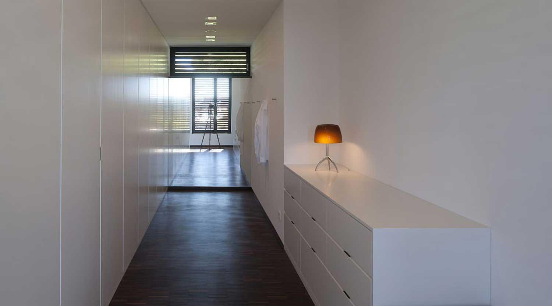 Heiderich Architekten, Lünen, Haus P, Dortmund Ahlenberg, Ankleide 3