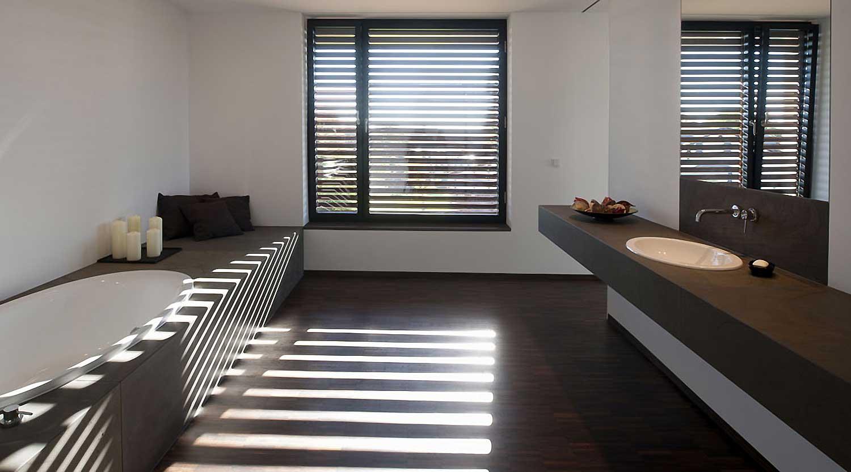 Heiderich Architekten, Lünen, Haus P, Dortmund Ahlenberg, Bad 3