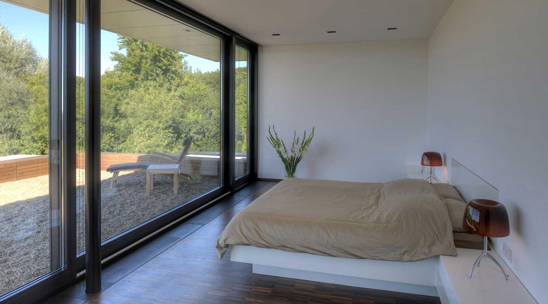 Heiderich Architekten, Lünen, Haus P, Dortmund Ahlenberg, Schlafzimmer 1