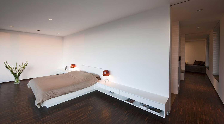 Heiderich Architekten, Lünen, Haus P, Dortmund Ahlenberg, Schlafzimmer 3