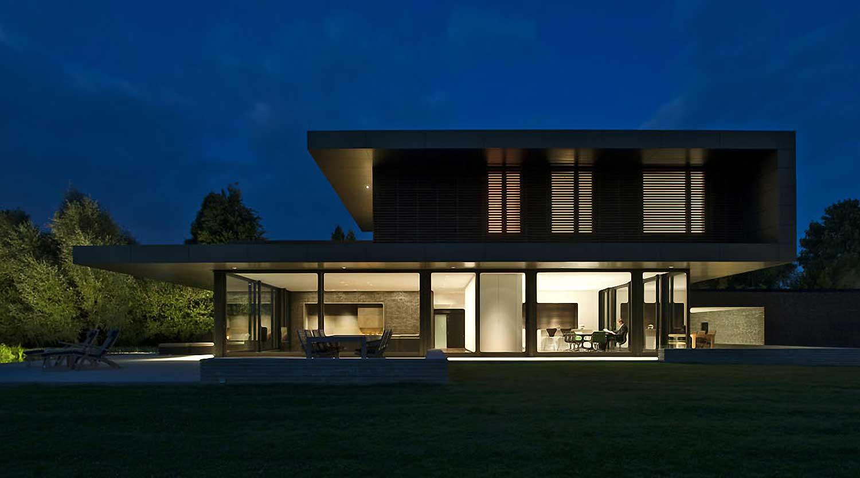 Heiderich Architekten, Lünen, Haus P, Dortmund Ahlenberg, Ansicht West 5