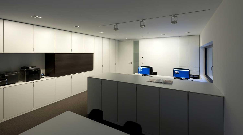 Heiderich Architekten, Lünen, Haus P, Dortmund Ahlenberg, Büro 4