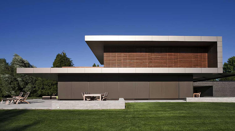 Heiderich Architekten, Lünen, Haus P, Dortmund Ahlenberg, Ansicht West 2
