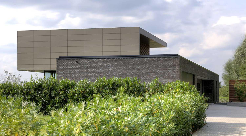 Heiderich Architekten, Lünen, Haus P, Dortmund Ahlenberg, Einfahrt
