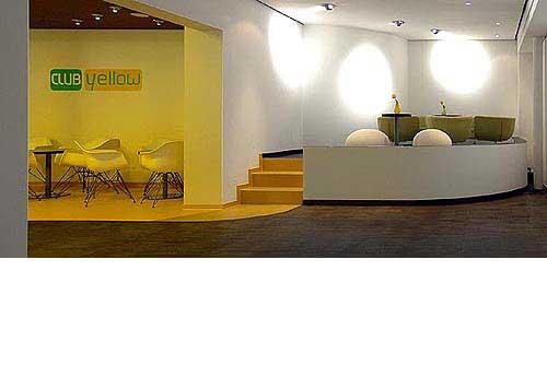 Club Yellow im Hotel Zugrücke Grenzau Lounge Heiderich Architekten Lünen
