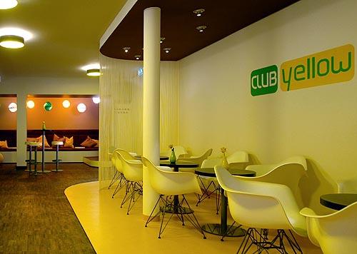 Club Yellow im Hotel Zugrücke Grenzau Heiderich Architekten Lünen