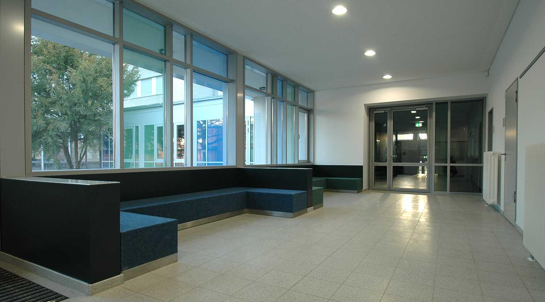 Scharnhorstschule Dortmund Flur Lounge Heiderich Architekten Lünen