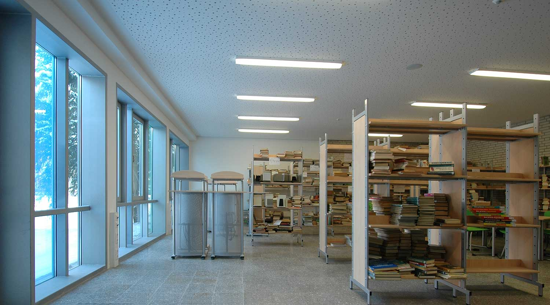 Scharnhorstschule Dortmund Bibliothek Heiderich Architekten Lünen