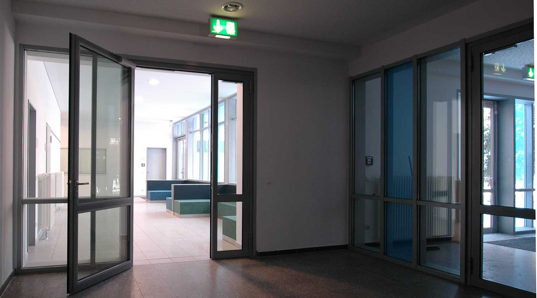 Scharnhorstschule Dortmund Flur Heiderich Architekten Lünen