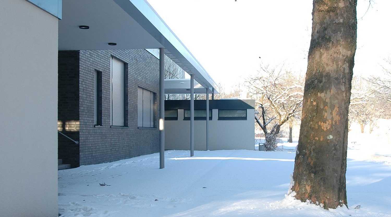 Scharnhorstschule Dortmund Detail Erweiterung Heiderich Architekten Lünen