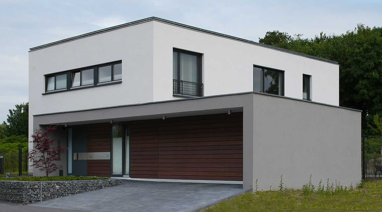 Haus B Herne Straßenansicht Heiderich Architekten Lünen