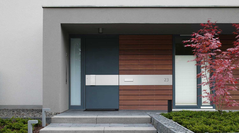 Haus B Herne Haustür Heiderich Architekten Lünen