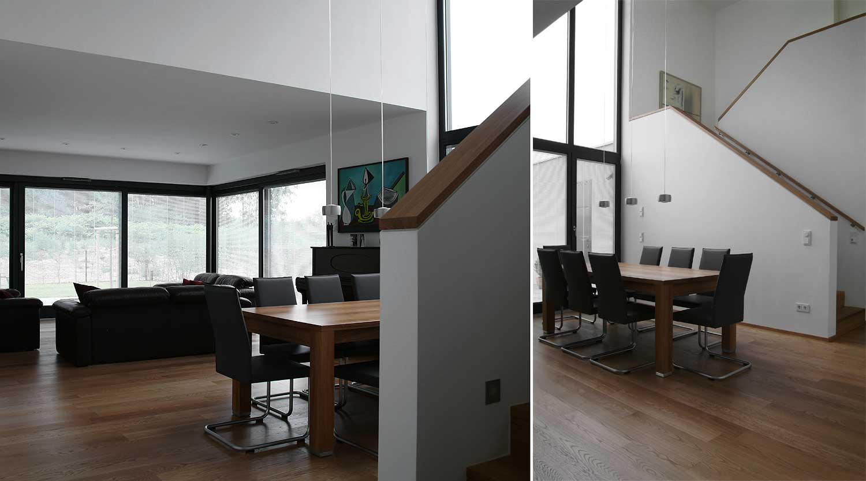 Haus b herne heiderich architekten for Modernes haus mit luftraum