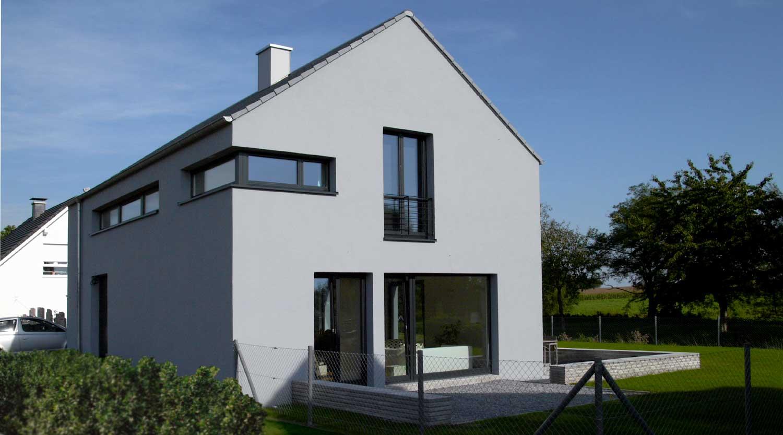 Haus G Nordkirchen Südkirchen Blick von Westen Heiderich Architekten Lünen