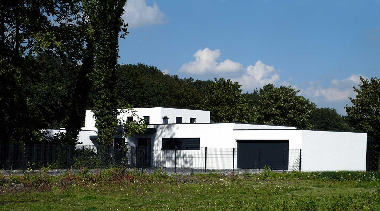 Haus J Lünen Blick von Westen Heiderich Architekten Lünen