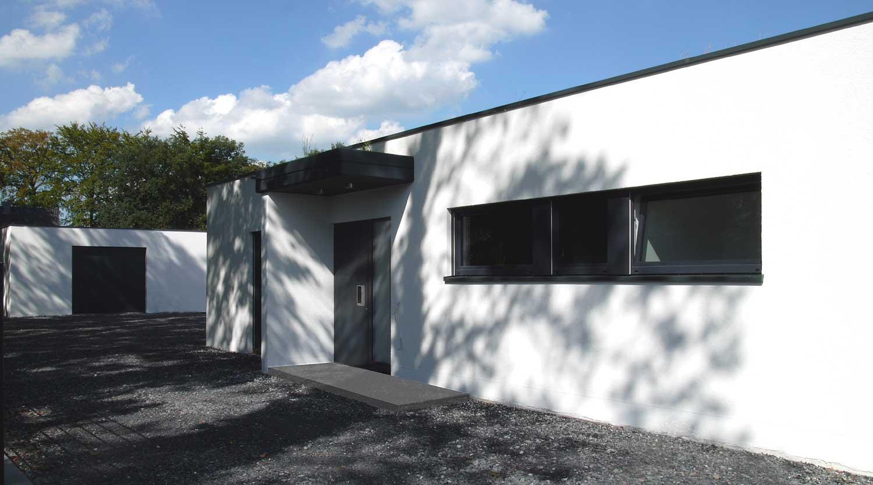 Haus J Lünen Eingang Heiderich Architekten Lünen