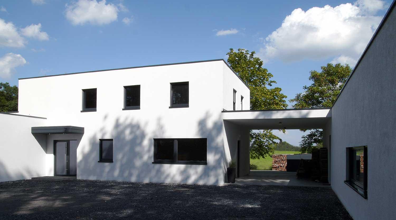 Haus J Lünen Durchgang Heiderich Architekten Lünen
