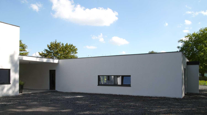 Haus J Lünen Hof Heiderich Architekten Lünen