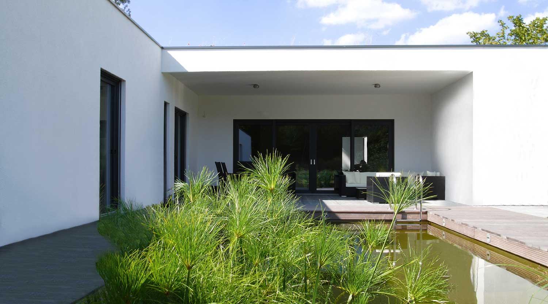 Haus J Lünen Garten Heiderich Architekten Lünen