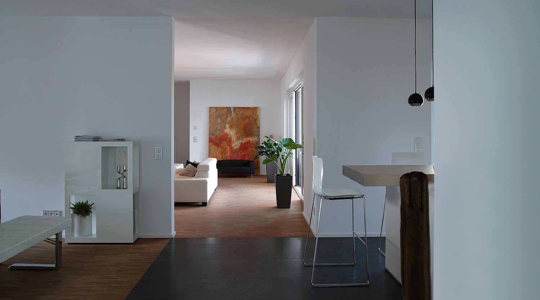 Haus J Lünen Küche Wohnen Heiderich Architekten Lünen