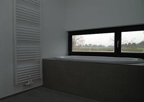 Haus N Selm Cappenberg Detail Bad Heiderich Architekten Lünen