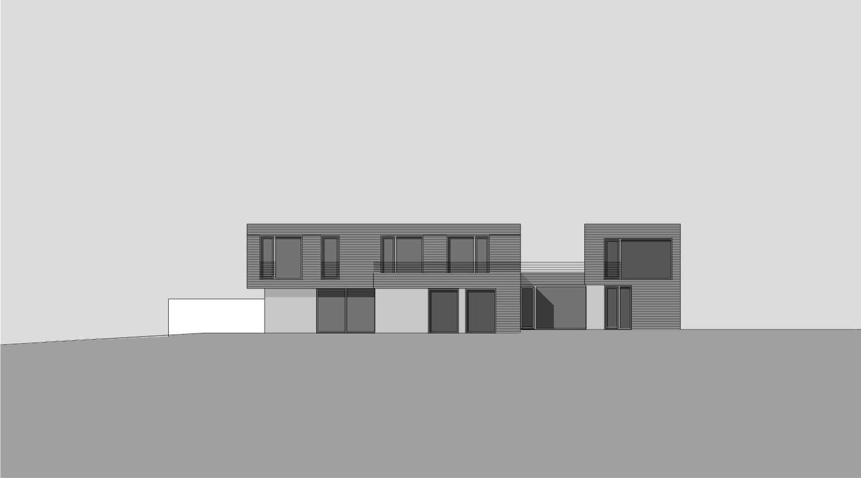 Ansicht Architektur haus j dortmund heiderich architekten