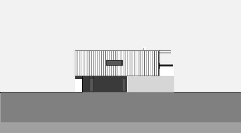 Haus S in Hagen Ansicht von Norden Heiderich Architekten Lünen