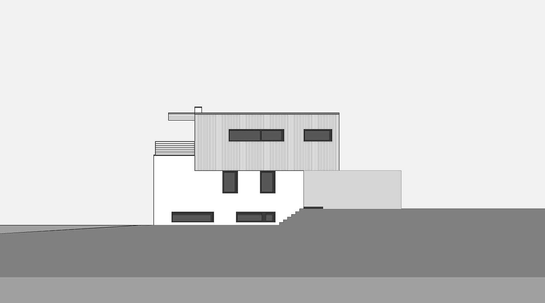 Haus S in Hagen Ansicht von Osten Heiderich Architekten Lünen