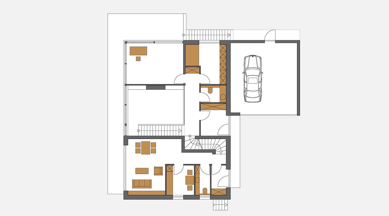 Haus S in Hagen Grundriss EG Heiderich Architekten Lünen