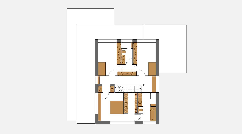 Haus S in Hagen Grundriss OG Heiderich Architekten Lünen