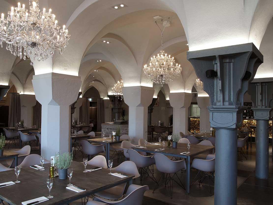 Restaurant Emil im U Dortmund Säulenhalle Heiderich Architekten Lünen