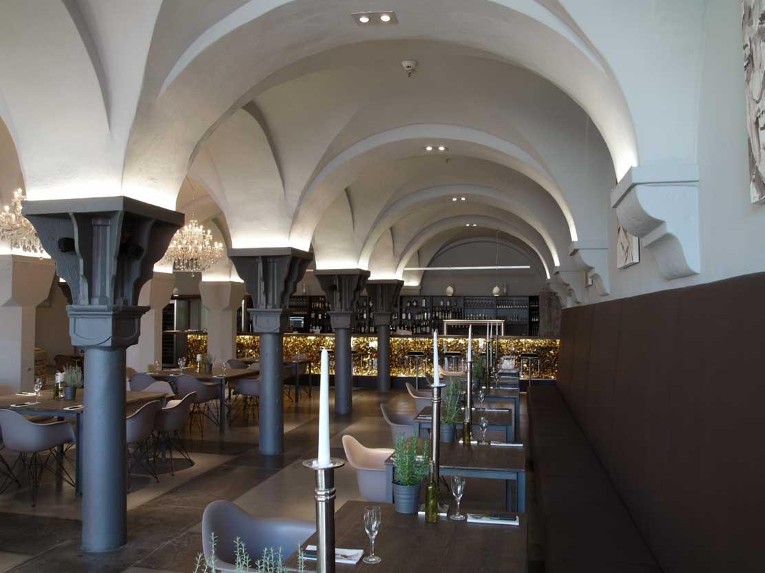 Restaurant Emil im U Dortmund Bankbereich Heiderich Architekten Lünen