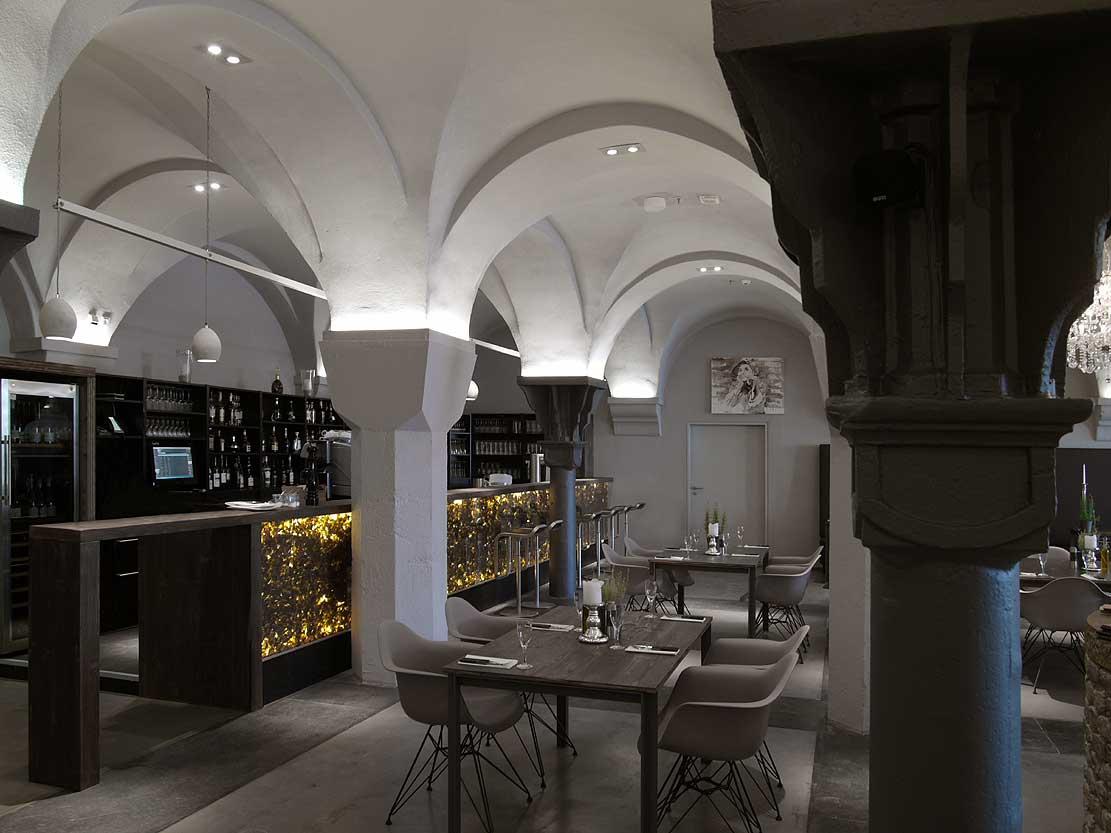 Restaurant Emil im U Dortmund Theke Heiderich Architekten Lünen