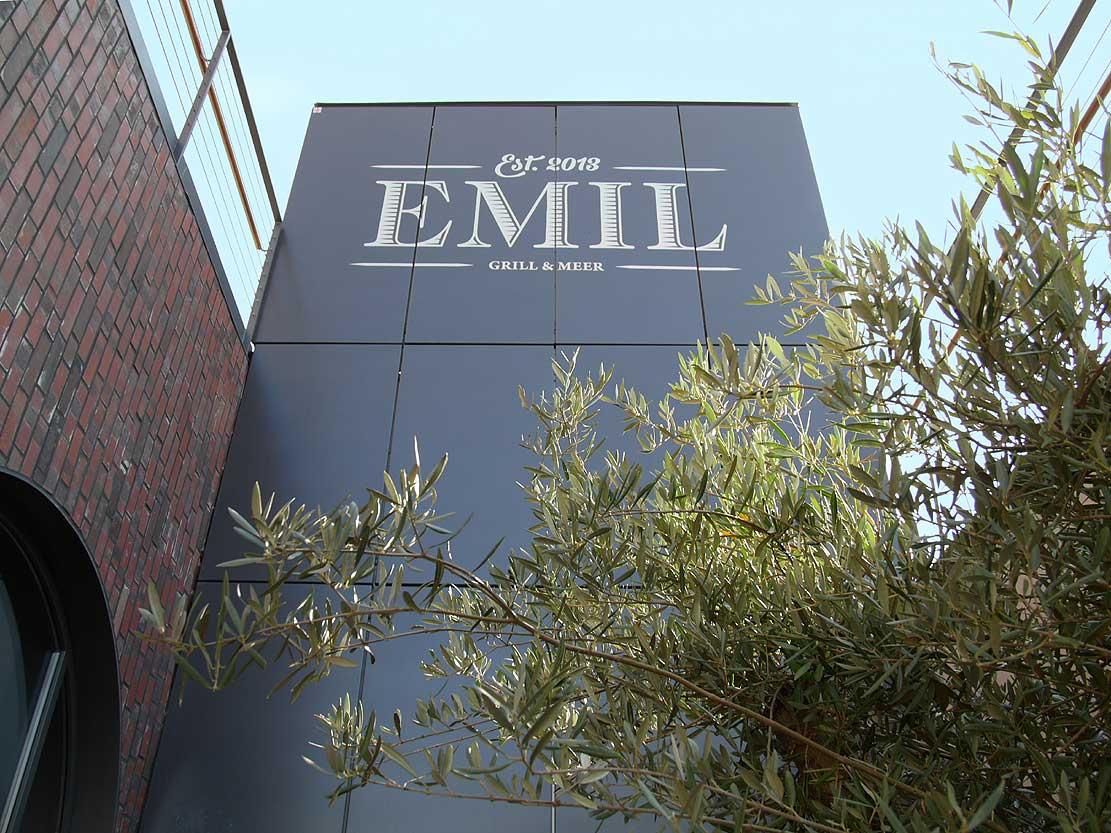 Restaurant Emil im U Dortmund Logo Heiderich Architekten Lünen