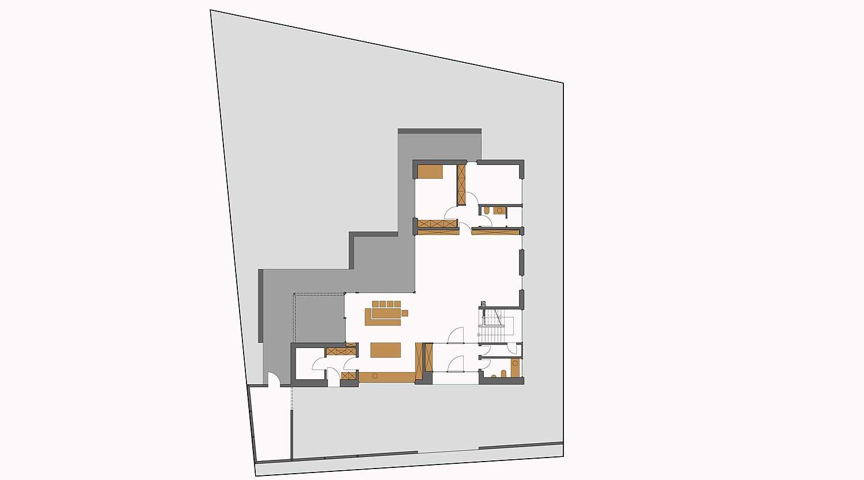 Einfamilienhaus HB Dortmund Ahlenberg Grundriss EG Heiderich Architekten Lünen