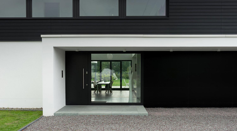Heiderich Architekten, Lünen, Haus S, Lünen, Eingang