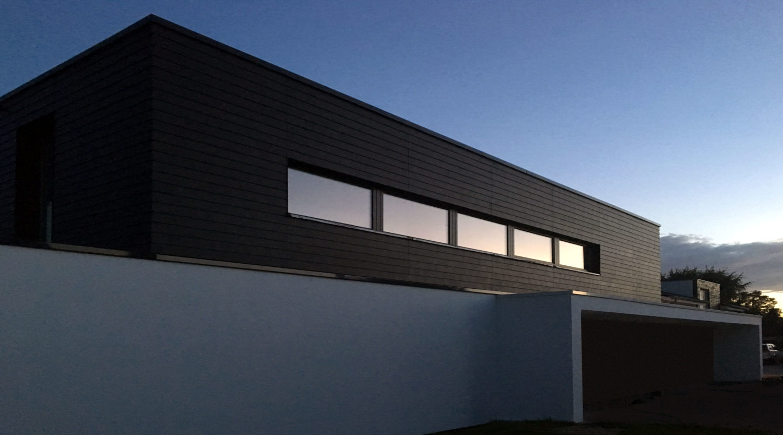 Heiderich Architekten, Lünen, Haus S, Lünen, Nordfassade