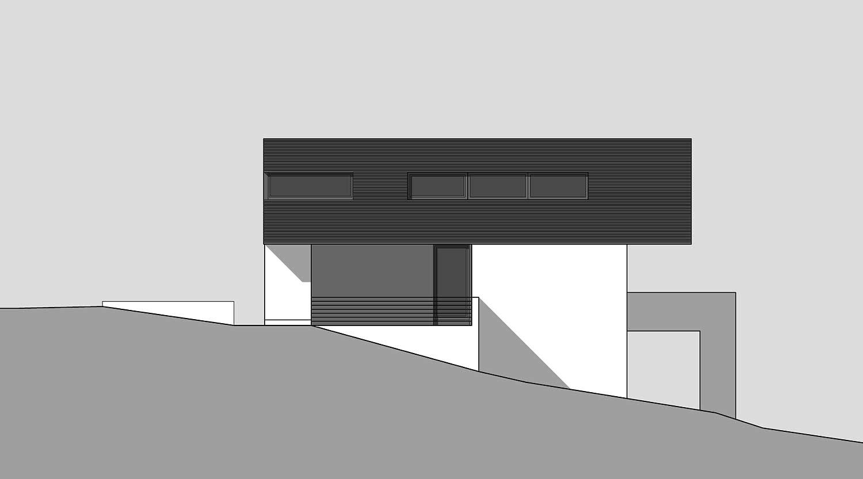 Heiderich Architekten, Lünen, Haus K, Dortmund, Ansicht Nord