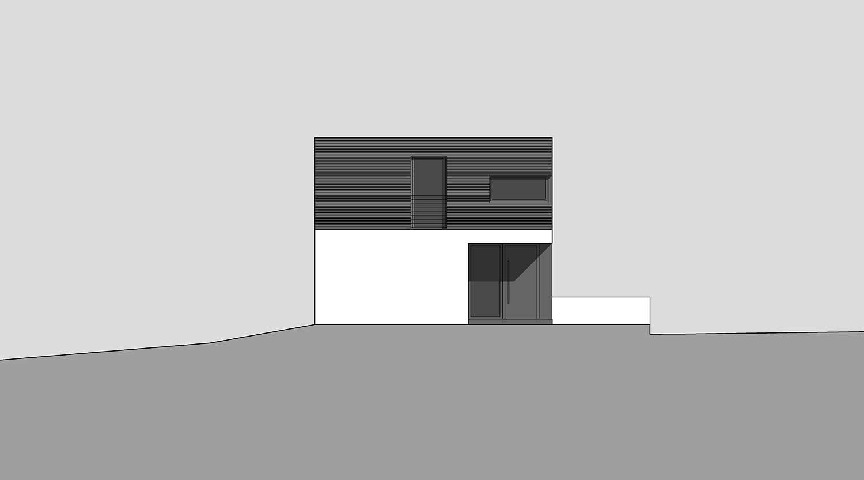Heiderich Architekten, Lünen, Haus K, Dortmund, Ansicht Ost