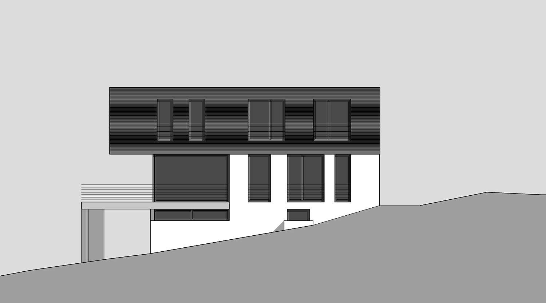 Heiderich Architekten, Lünen, Haus K, Dortmund, Ansicht Süd