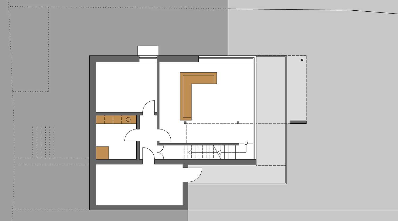 Heiderich Architekten, Lünen, Haus K, Dortmund, Grundriss UG